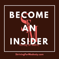 Join Striving For Modesty Insider. Reward Points. Hijab Store. Exclusive Club